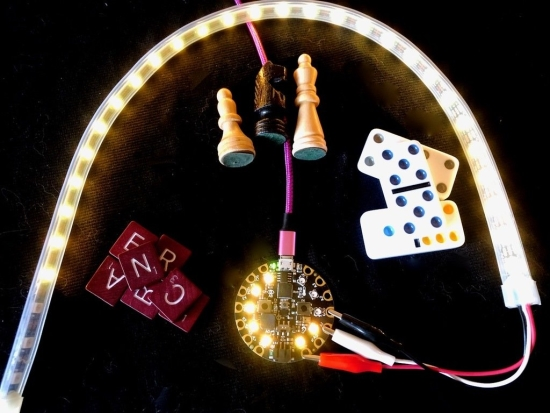 Game Clock with Circuit Playground & MakeCode