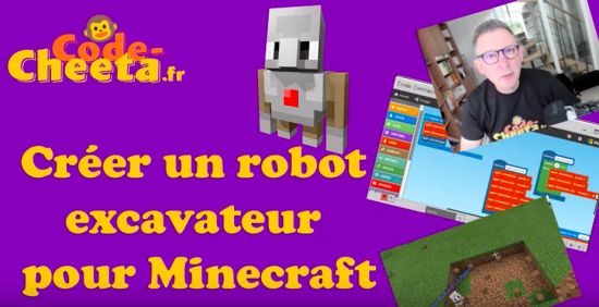MakeCode Minecraft Tutorials in French