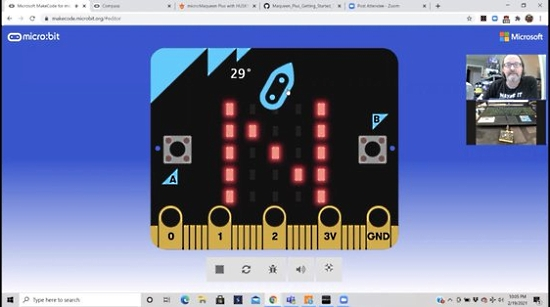 How to create a compass with the micro:bit!